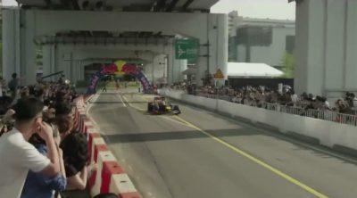 Exhibición de Red Bull y Antonio Felix Da Costa en Seúl