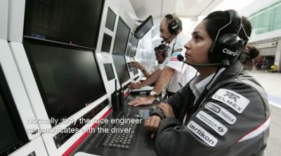Sauber nos muestra como funcionan las comunicaciones de radio en la F1