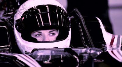 Susie Wolff se sube por primera vez a un Fórmula 1