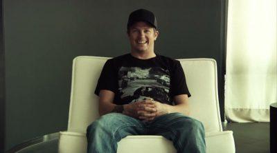 Kimi Räikkönen nos felicita la Navidad... a su manera