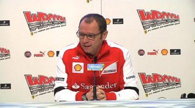 Stefano Domenicali anuncia el fichaje de Pedro de la Rosa y la fecha de presentación del Ferrari 2013